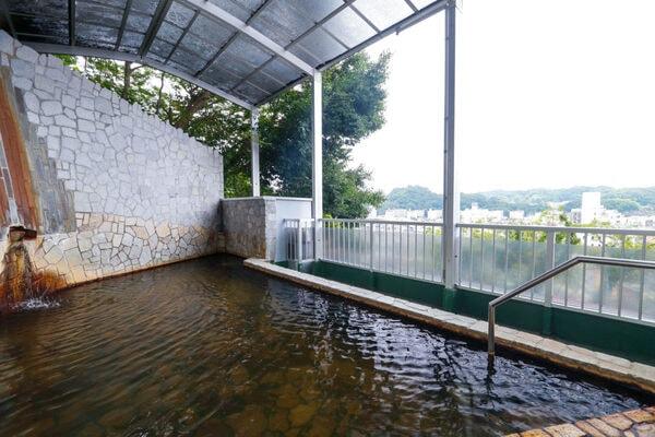 半露天風呂 福の湯(6F/大黒の湯より階段で移動)