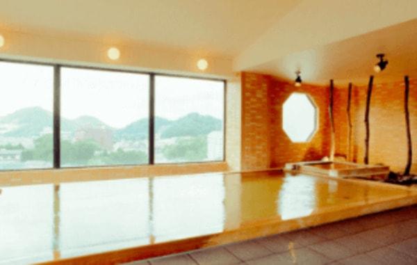 殿方天空風呂 内風呂