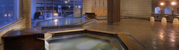 源蔵の湯 鳴子観光ホテル  大浴場
