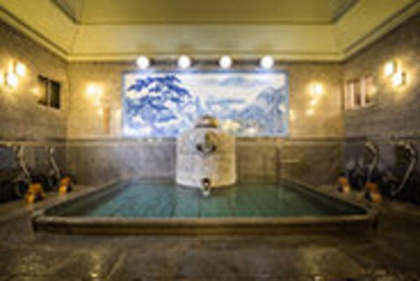 神の湯 男性浴室
