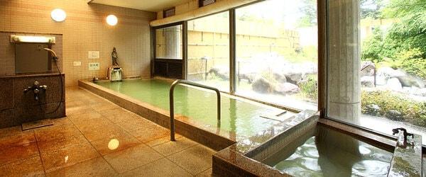 奥日光森のホテル内風呂
