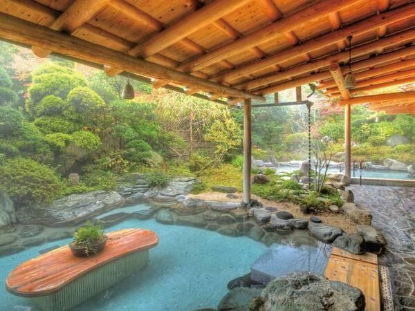 女性用庭園露天風呂