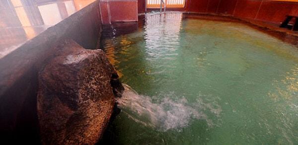桜の湯(女性用内風呂)