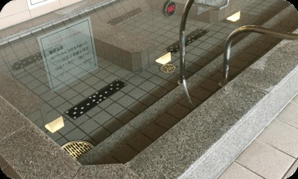電気マッサージ風呂