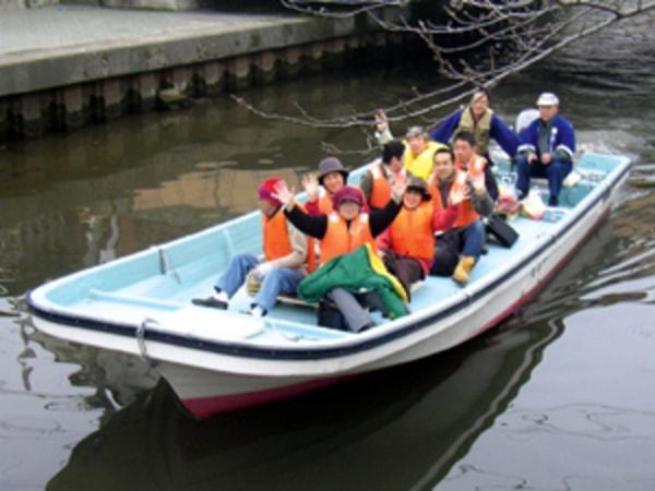 加茂川・中海遊覧船 船