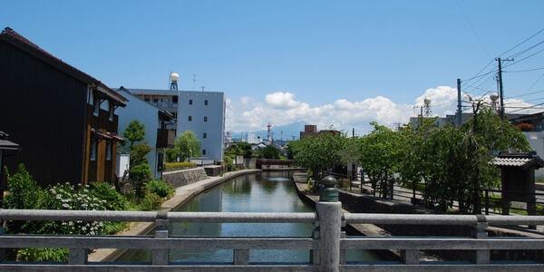 加茂川・中海遊覧船 景色