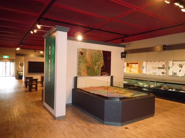 館内 学習標本展示室