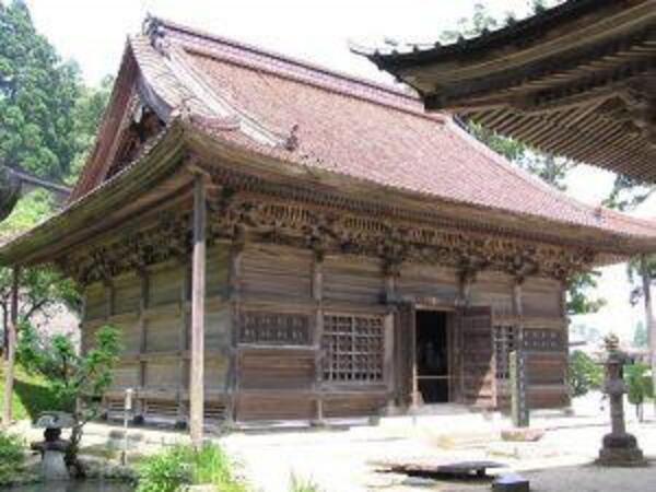 登録有形文化財 五百羅漢堂(ごひゃくらかんどう)