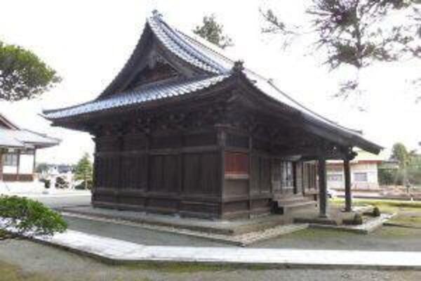 登録有形文化財 龍華庵(りゅうげあん)