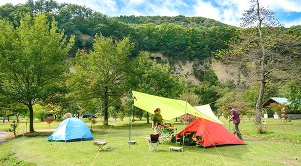猿ヶ京温泉湯島オートキャンプ場