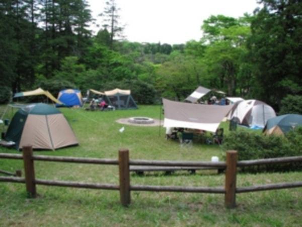 キャンプ場様子
