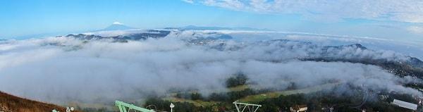 雲がでている写真