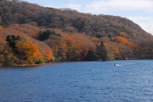 芦ノ湖 秋