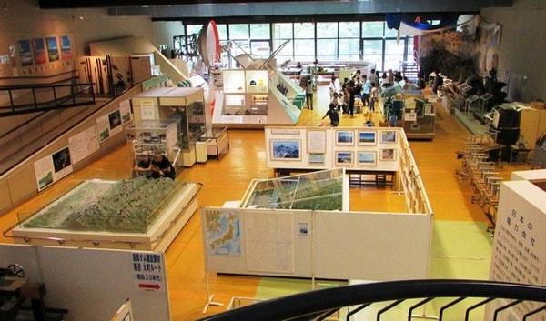 大町エネルギー博物館 館内