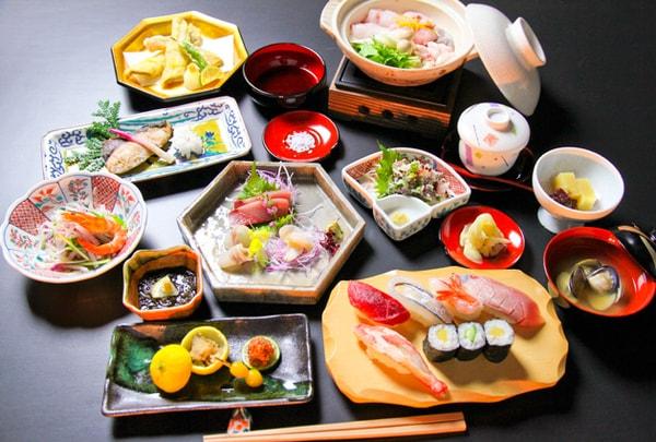 寿司会席(一例)