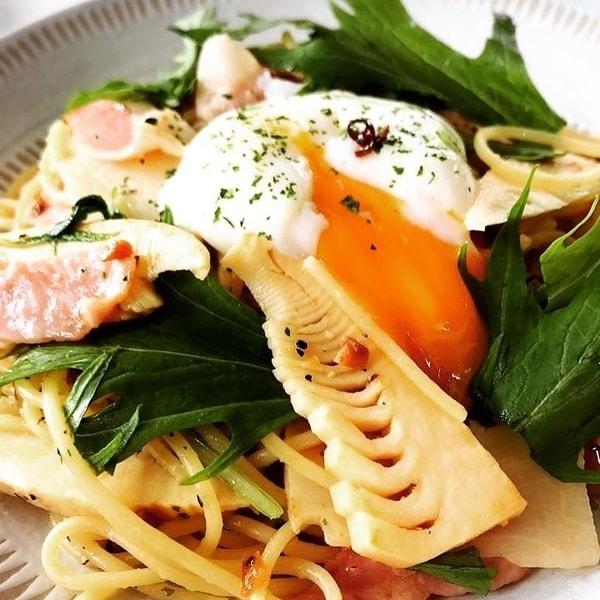 季節のパスタ(料理一例)