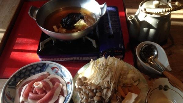 猪鍋(一例)