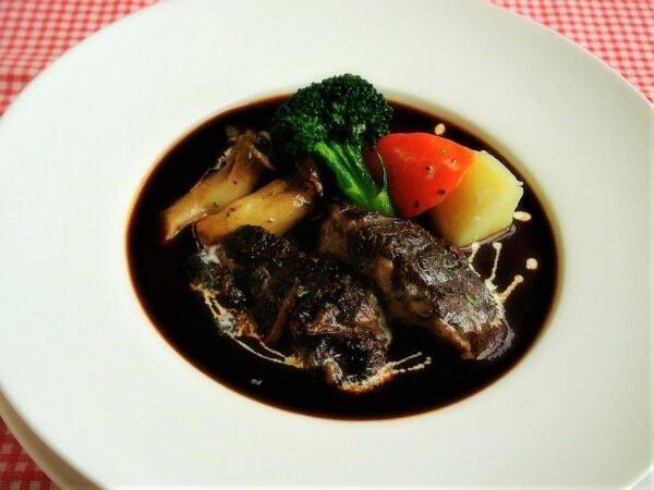雲仙和牛のビーフシチュー(料理一例)
