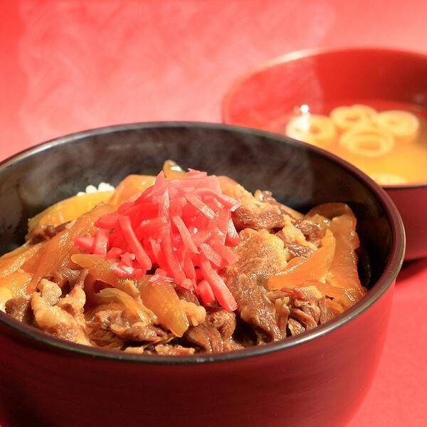 牛丼(一例)