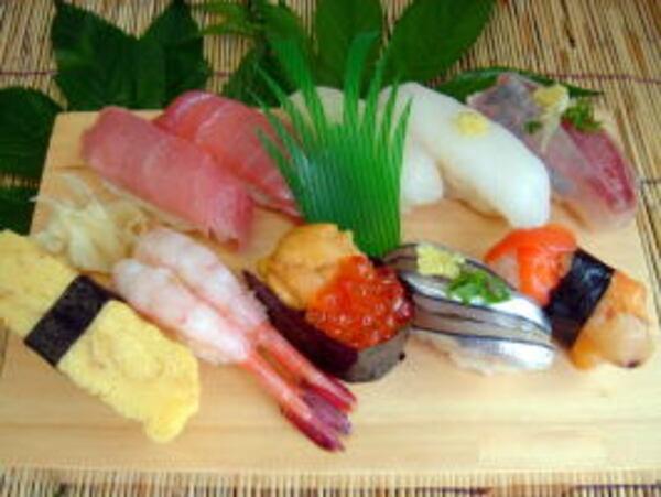 上寿司(一例)