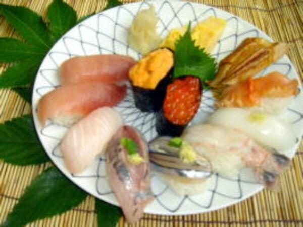特上寿司(一例)