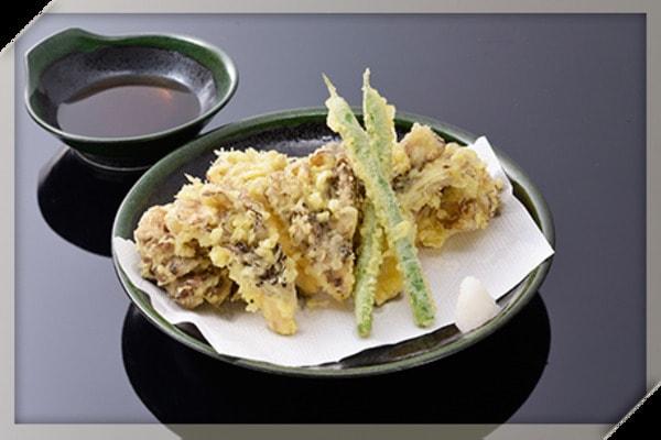 舞茸天ぷら(料理一例)