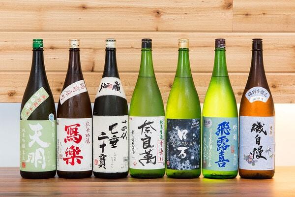 福島の地酒(一例)