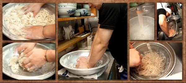 麺づくり(料理一例)