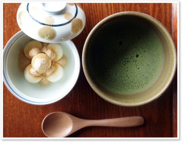 嬉野抹茶セット(一例)