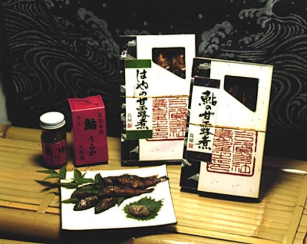 鮎の甘露煮(商品一例)