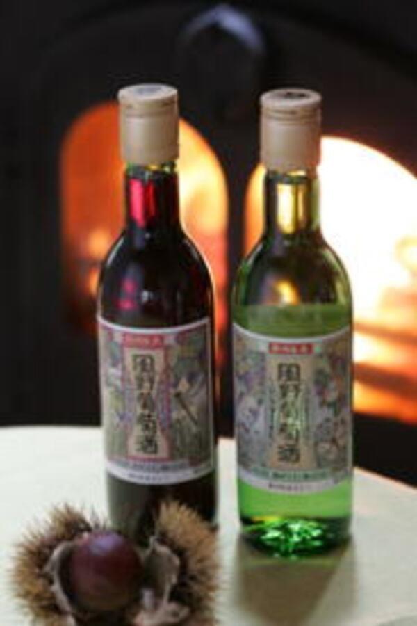 黒川オリジナルワイン風野葡萄酒(商品一例)