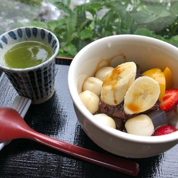 白玉あんみつ(商品一例)