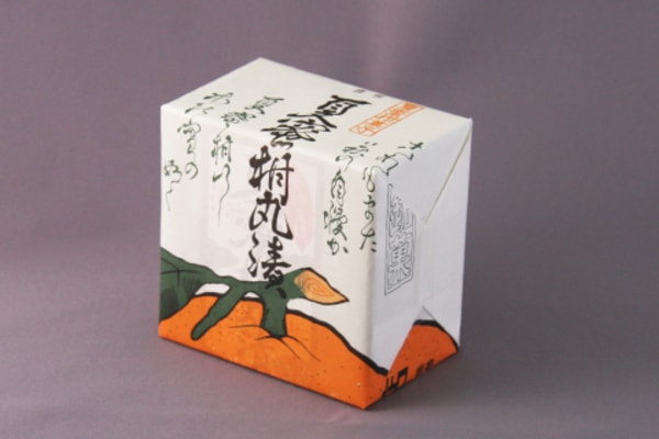夏蜜柑丸漬 パッケージ(商品一例)