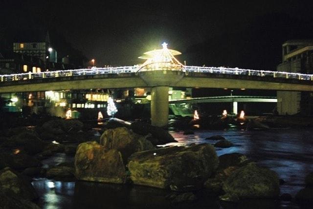天ヶ瀬温泉クリスマスイルミネーション