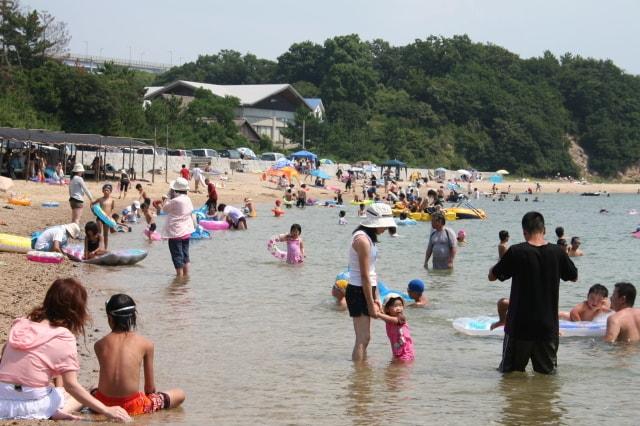 【海水浴】沙弥島海水浴場<中止となりました>