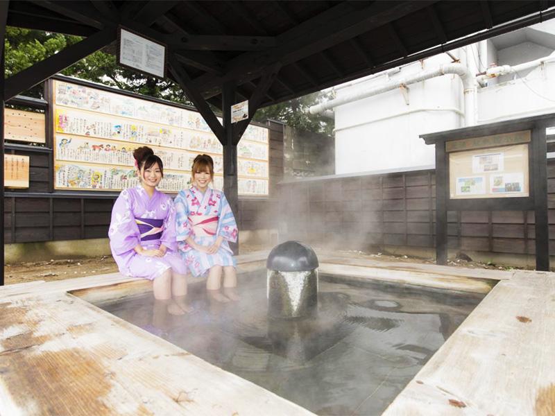 【かみのやま温泉】ゆかたで湯めぐりができる温泉城下町