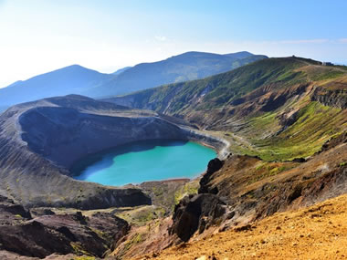 【遠刈田温泉】蔵王のシンボル御釜も近い、開湯400余年の温泉地