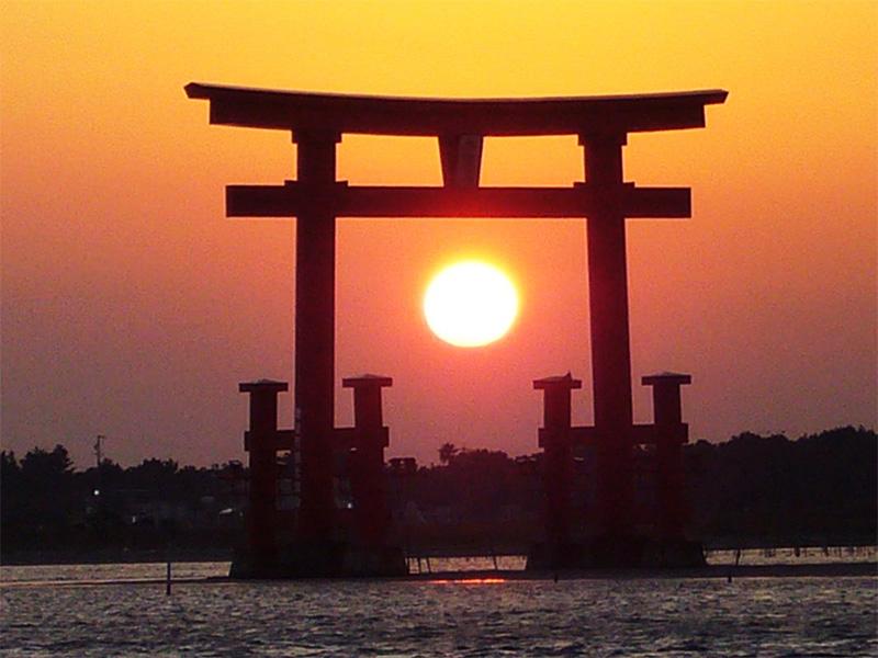【弁天島温泉】夕日に染まる浜名湖と遠州灘の大パノラマに感動