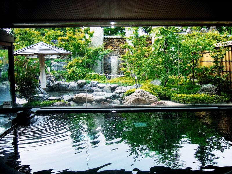 【犬山温泉】国宝・犬山城に見守られ、湧き出た新興の湯