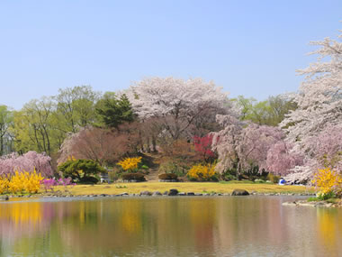 【磐梯熱海温泉】2種類の温泉が楽しめる名湯。風光明媚な名所もある