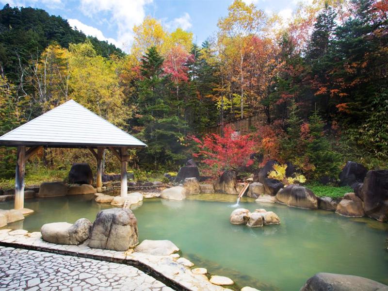【濁河温泉】原生林に覆われた秘境に湧く赤褐色の湯