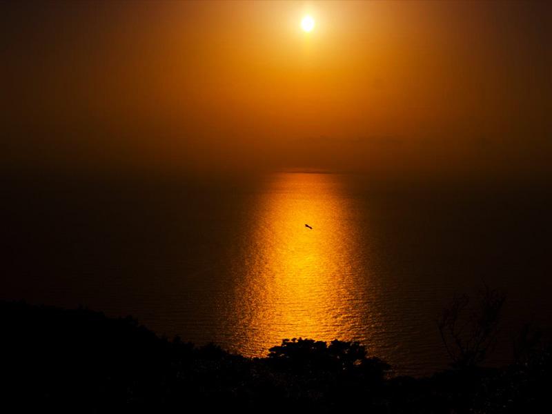 【天草下田温泉】燃える夕陽とキリシタン伝説が息づく地に湧く古湯