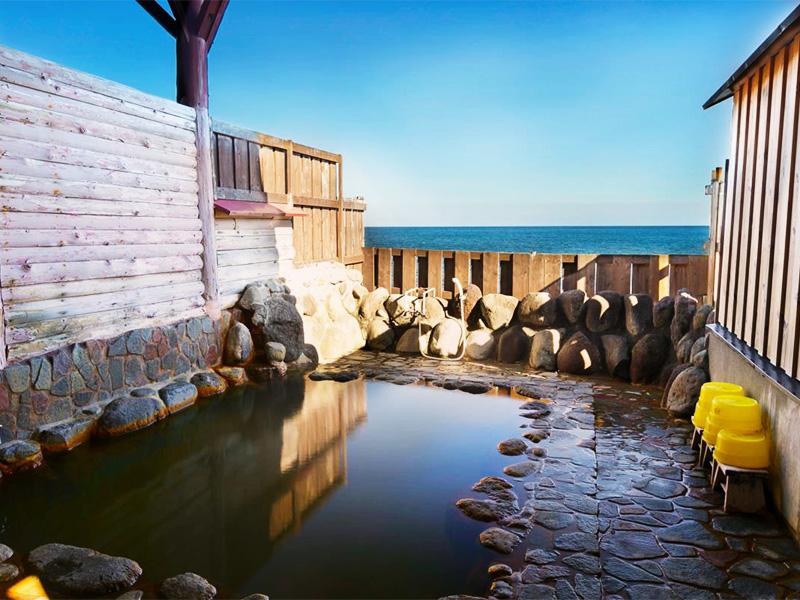 【大川温泉】相模湾を目の前に望む眺望自慢の温泉地