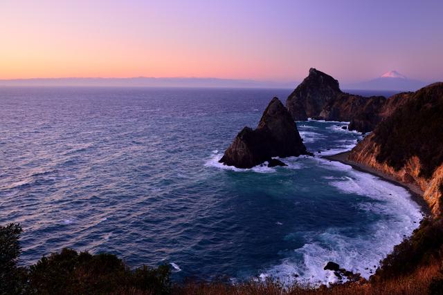 【雲見温泉】富士山と夕日が美しい 海の絶景温泉地