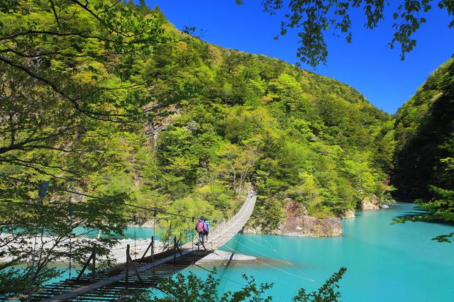 【寸又峡温泉】夢の架け橋!渡れば楽園浸かれば極楽!