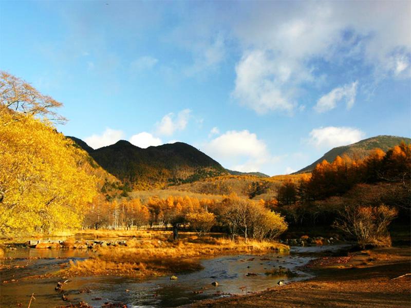 【光徳温泉】中禅寺湖北、白樺や唐松に覆われた高原の温泉