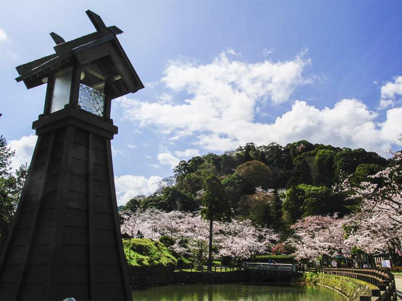 【鹿野温泉】約400年前の城下町に湧く温泉地