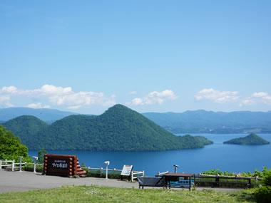 【洞爺湖温泉】展望台から望む洞爺湖の絶景も魅力