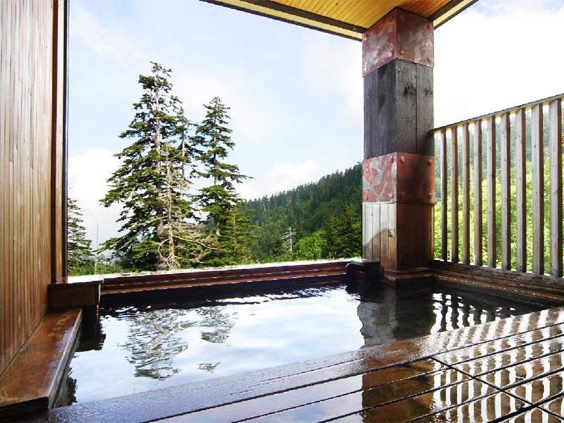 【十勝岳温泉】北海道のほぼ中心、道内最高所に湧く雲上温泉