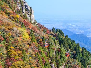 【湯の山温泉】美しい紅葉や多彩な高原植物も見られる温泉地